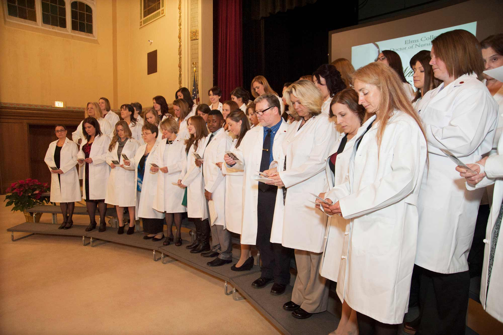 DNP White Coat 2015 Group Photo Banner