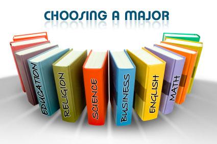 Choosing Major Thumbnail