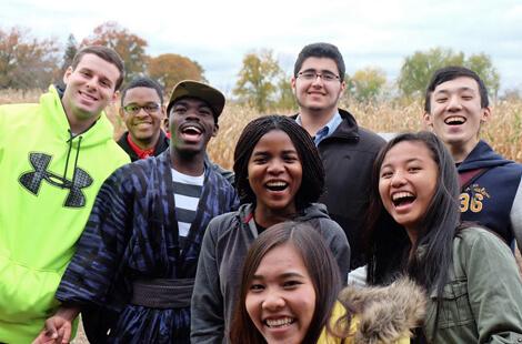 International Students Nov 14 Group Photo