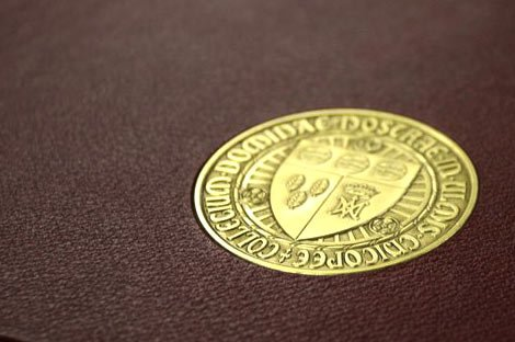 Elms Seal on Leather Image