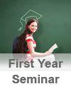 First Year Seminar Button