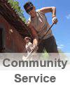 Community Service Button
