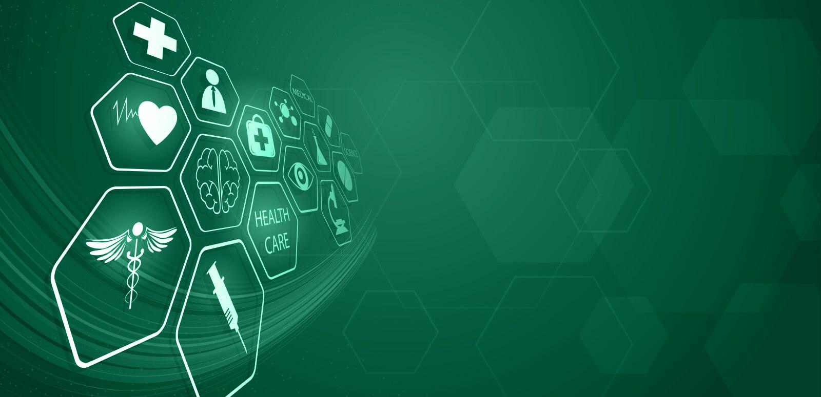 Healthcare Innovation Elms Green Banner