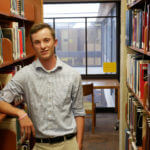 Photo of Michael Fleury '18, secondary education and English literature double major