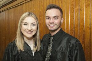 Photo of criminal justice major Nicole Eaton, and colleague