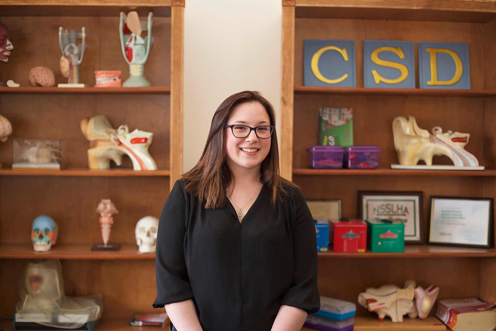 Photo of Communication Sciences and Disorders student