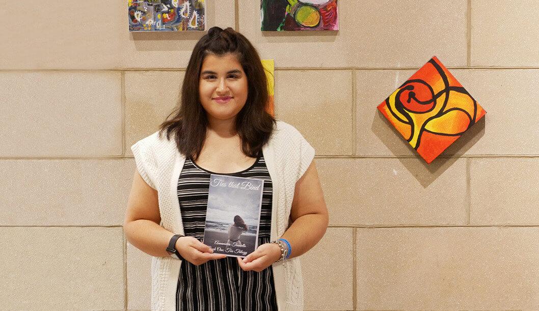 Photo of Annamaria Traniello, a secondary education and English double major