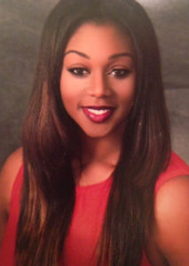 Photo of Chanae Brown, a graduate of the postbaccalaureate premedical studies program