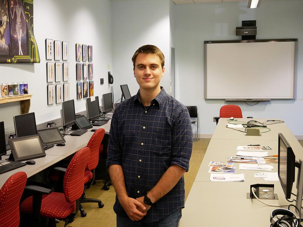Photo of computer information technology graduate Joe Gaszi