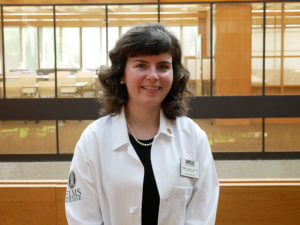 Photo of Meghan Sullivan, a student in the family nurse practitioner track of the doctor of nursing practice program