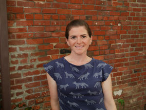 Photo of Michelle Zimora, founder of Z Wraps, a CEL startup
