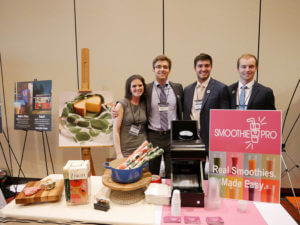 Photo of CEL startups Z Wraps and Smoothie Pro; Center for Entrepreneurial Leadership