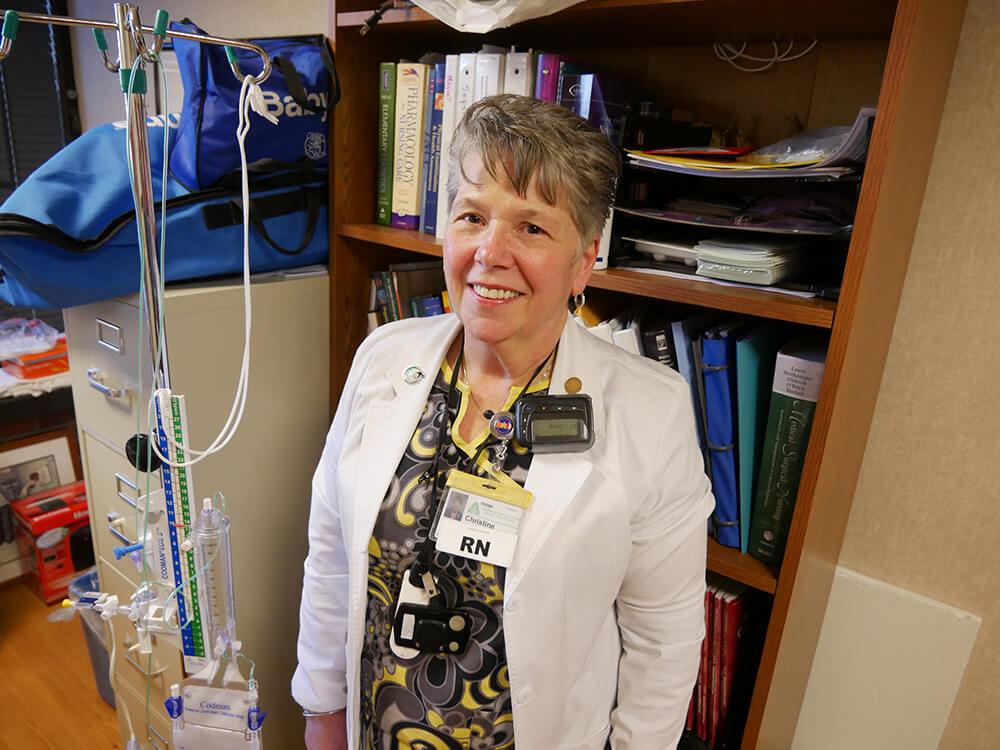 Photo of RN-BS graduate Christine Kiernan