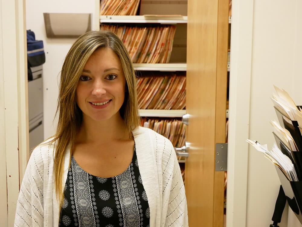 Photo of RN-BS graduate Jessie Chenier