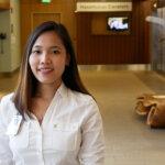 Photo of Tam Le, a graduate of the healthcare management program