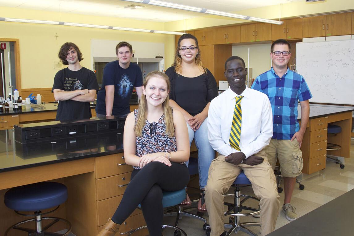 2017 ElmSTEM scholars