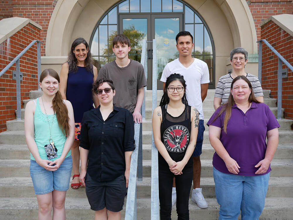 Photo of 2018 ElmSTEM scholars