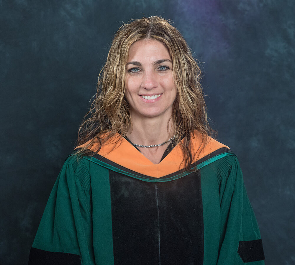 Photo of Jacqueline Ramsey-Rosenhein, a DNP-FNP graduate