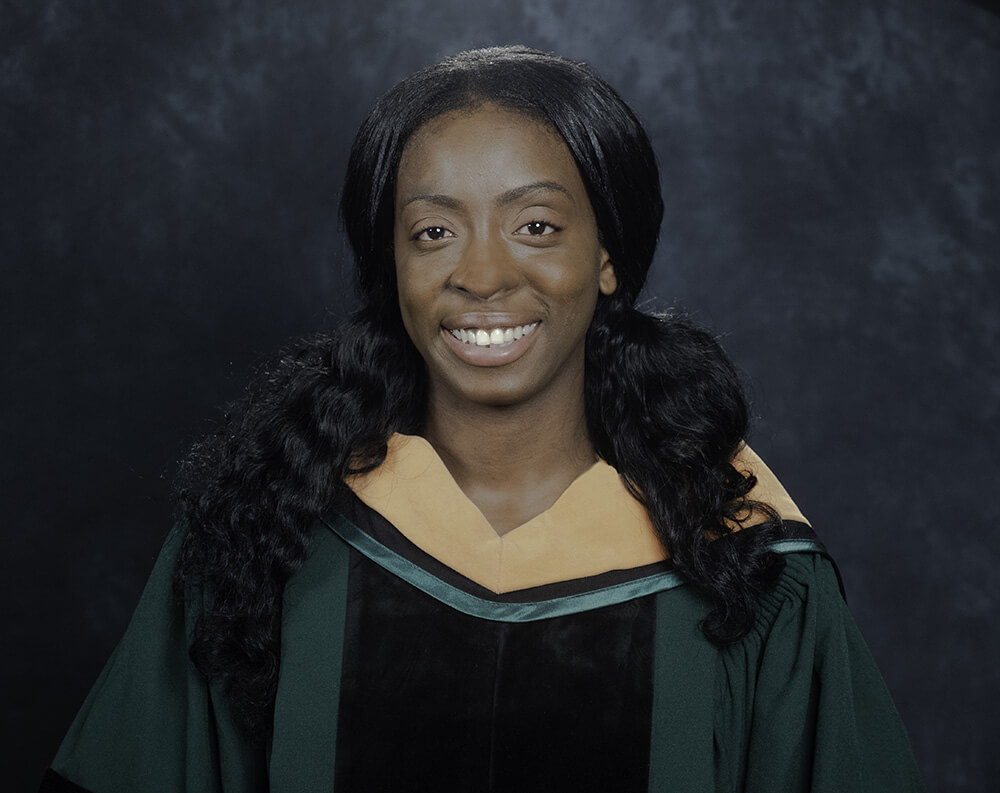Photo of Melene Mullings '18, a DNP-FNP graduate