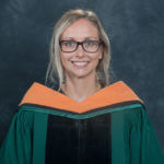 Photo of Sarah Chivas-Gagnon '18, a DNP-FNP graduate