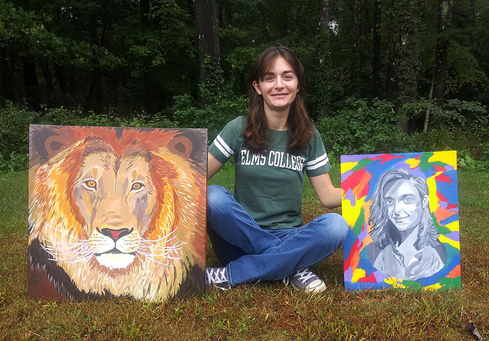 Photo of Sarah Nicoliello '19, an early childhood education and fine arts double major