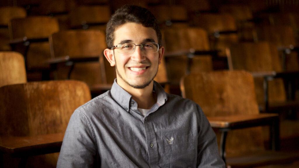Photo of Richard Hernandez '20, an elementary education and mathematics double major