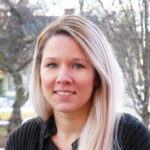 Photo of Paulina Lisheness, communications specialist