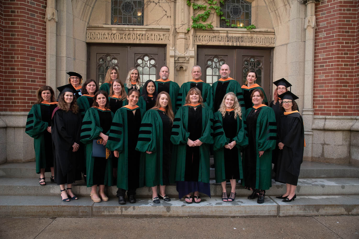 Photo of the 2018 Doctor of Nursing Practice (DNP) class