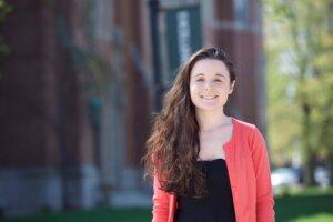 Photo of Kaitlin Bown '19, a CSD major