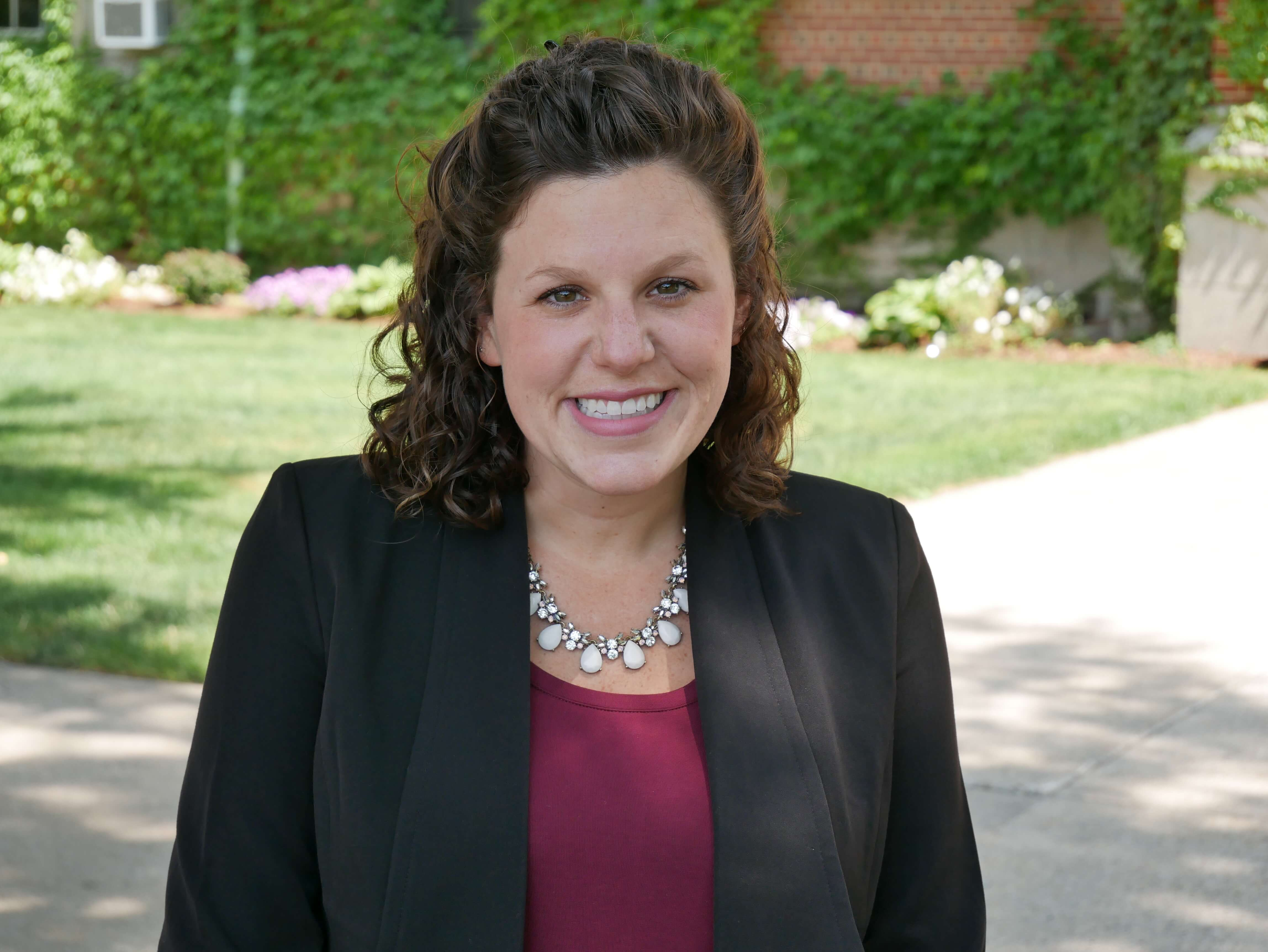 Photo Jenna Stolarik, Director of Admissions