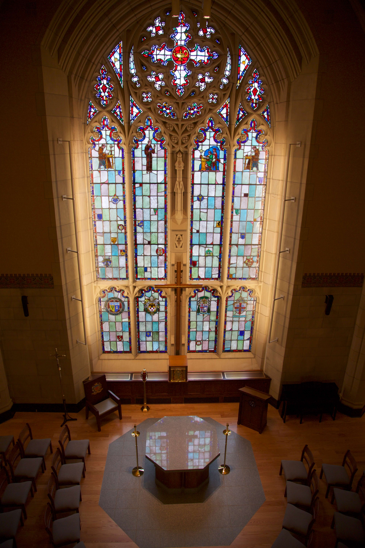 Photo of St. Joseph Chapel in Berchmans Hall