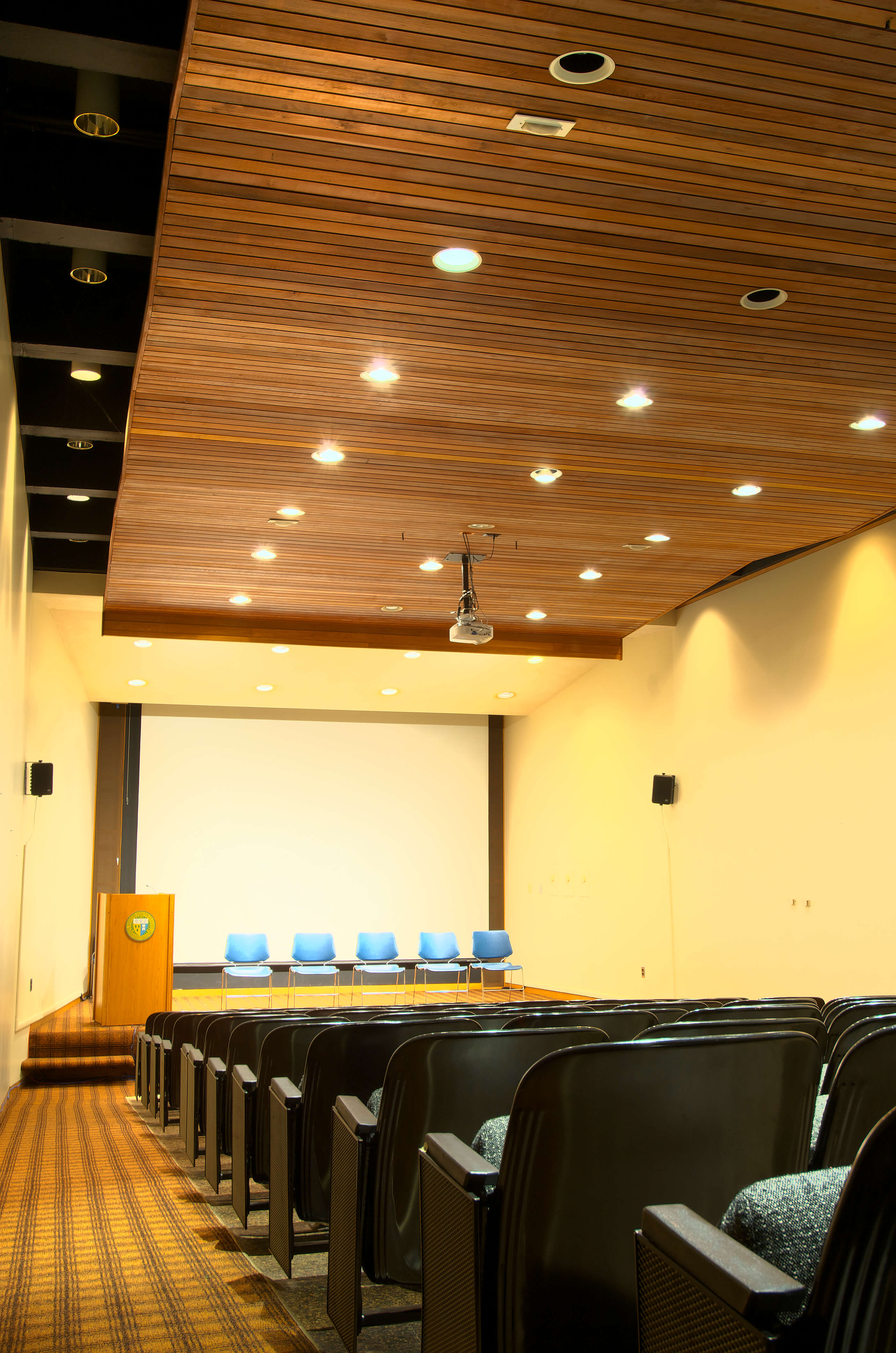 Photo of the Alumnae Library Theater