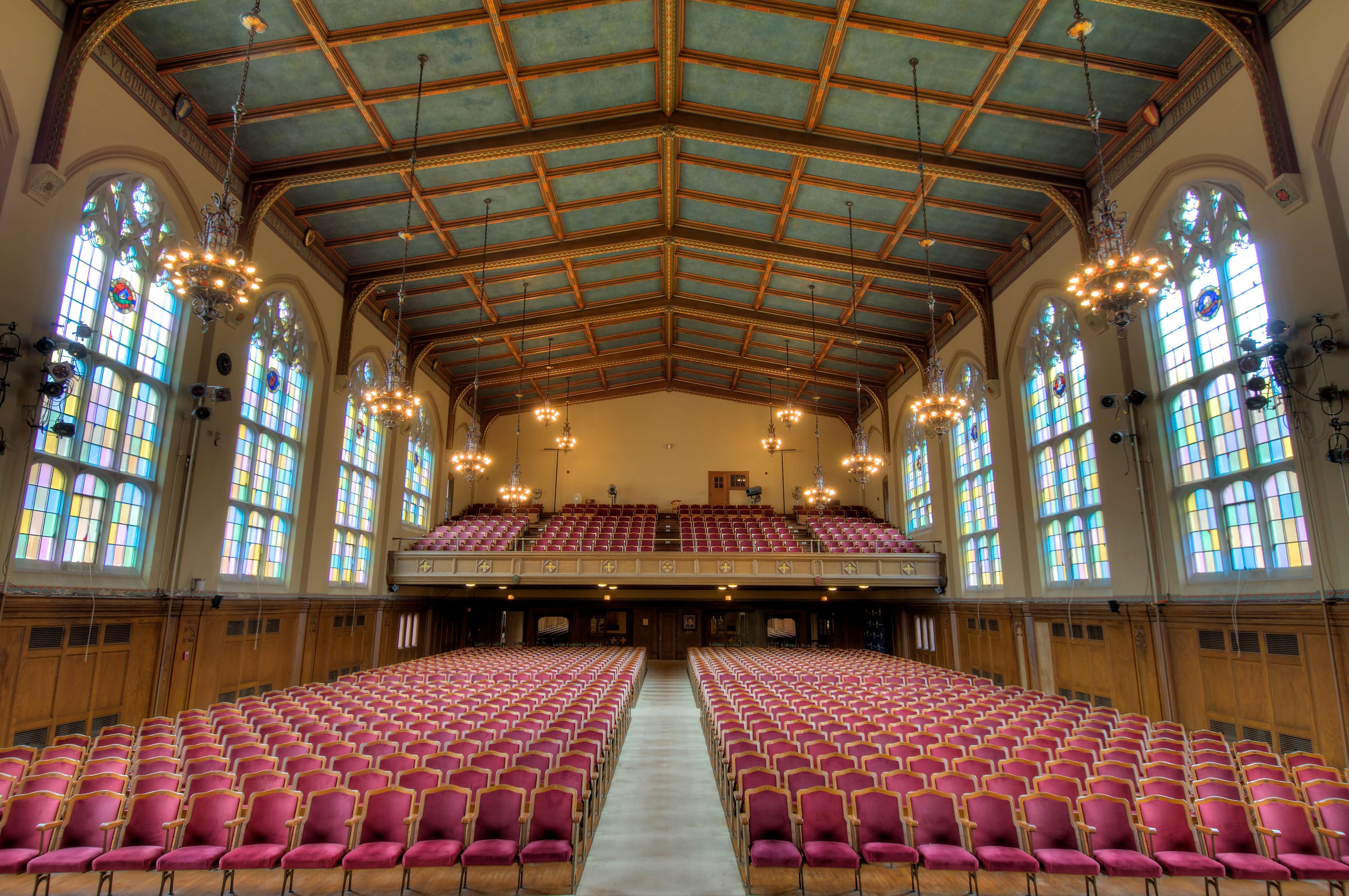 Photo of Veritas Auditorium in Berchmans Hall