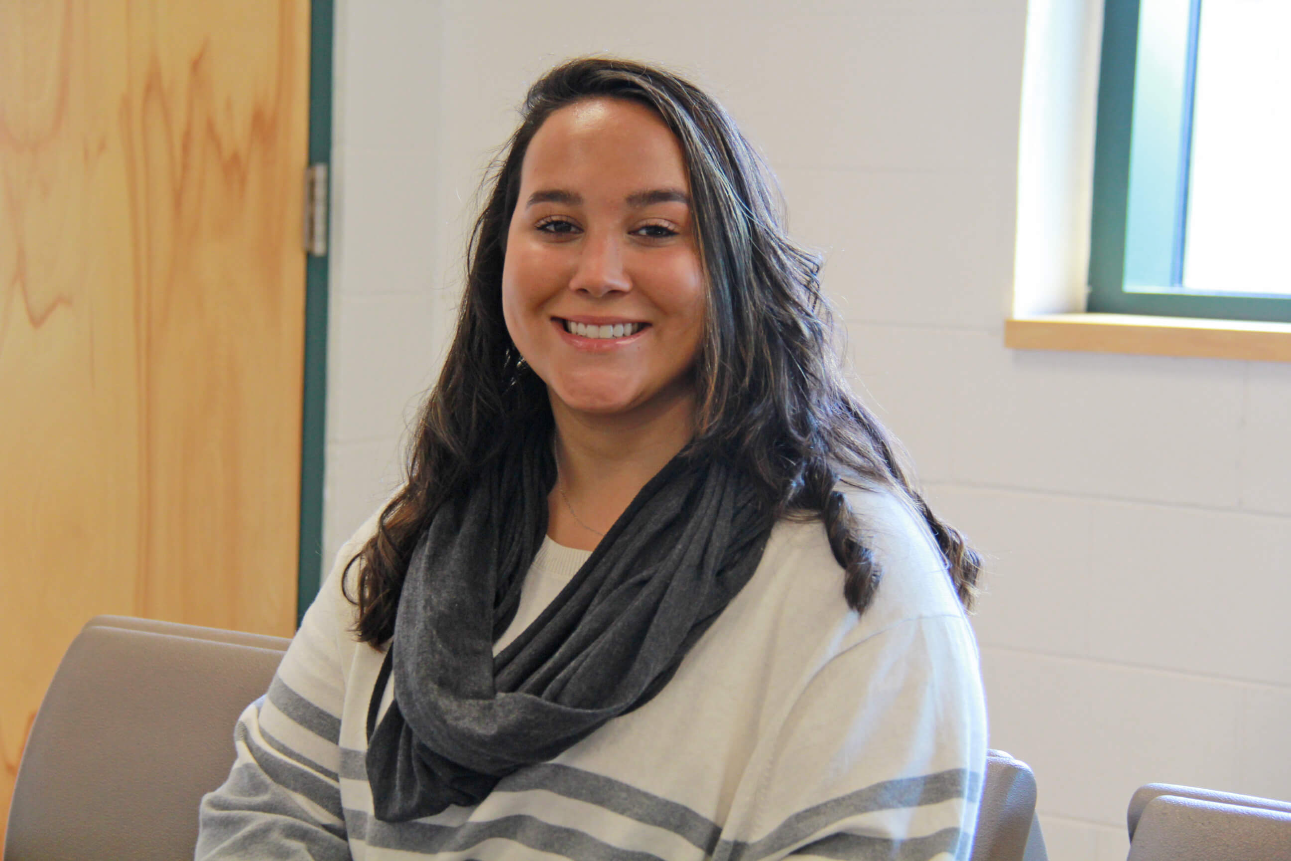 Photo of BCC social work student Shannon Rey