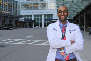 Photo of Jacob Freeman, PPS '14, a graduate of the postbaccalaureate pre-physician assistant (pre-PA) program