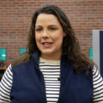 Photo of Jessica Morris '11, MSW, a graduate of the Elms social work program and an adjunct faculty member for the Elms-ACC off-campus social work program