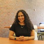 Photo of Alejandra Ocasio '19, social work grad from Elms-STCC