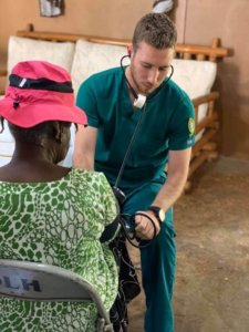 Photo of an accelerated second degree nursing student on a mission trip to Jamaica