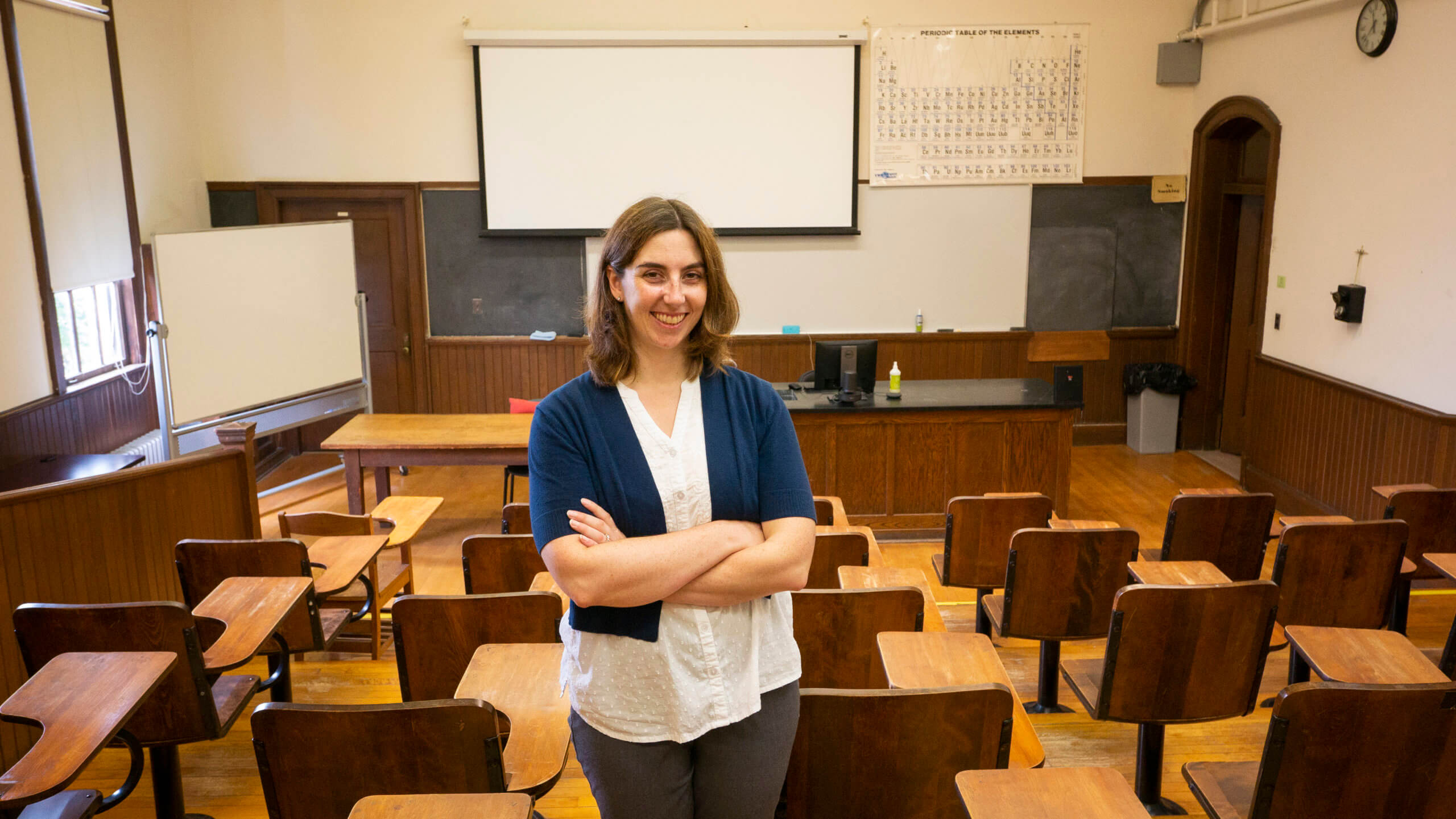 Photo of a Master of Arts in Teaching (MAT) student