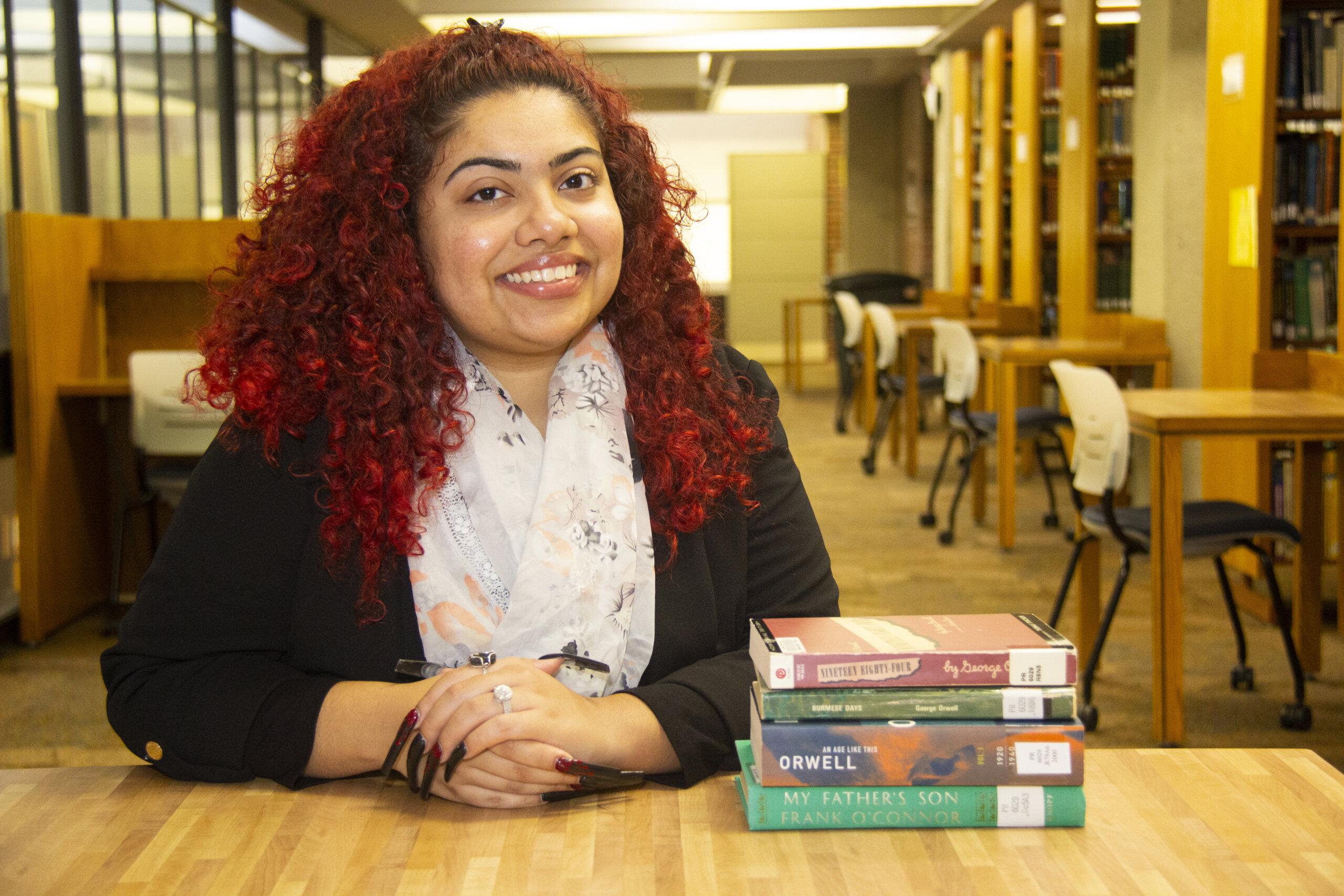 Photo of English major Madison Rosado '22