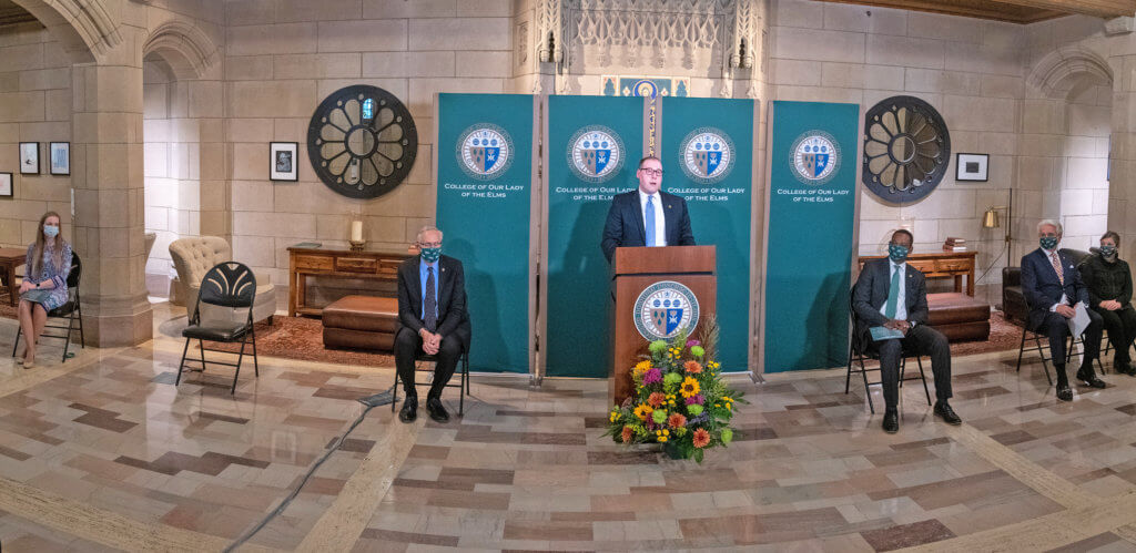 Photo of the launch of the Center for Ethics, Religion, and Culture (CERC)