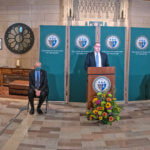 Photo of the launch of the St. Augustine Center for Ethics, Religion, and Culture (CERC)