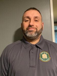 Photo of Public Safety Officer Thomas Perla.