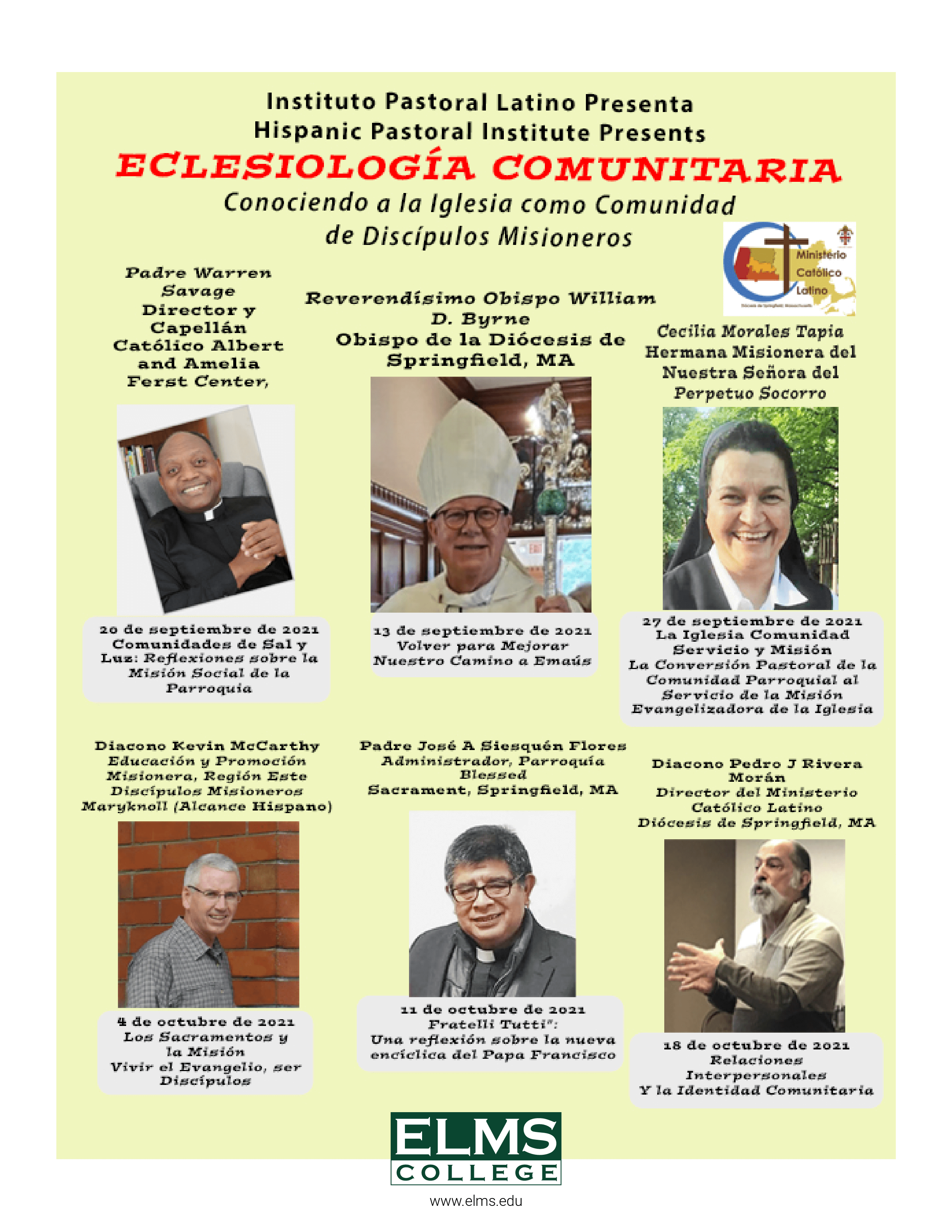 Community Ecclesiology Events